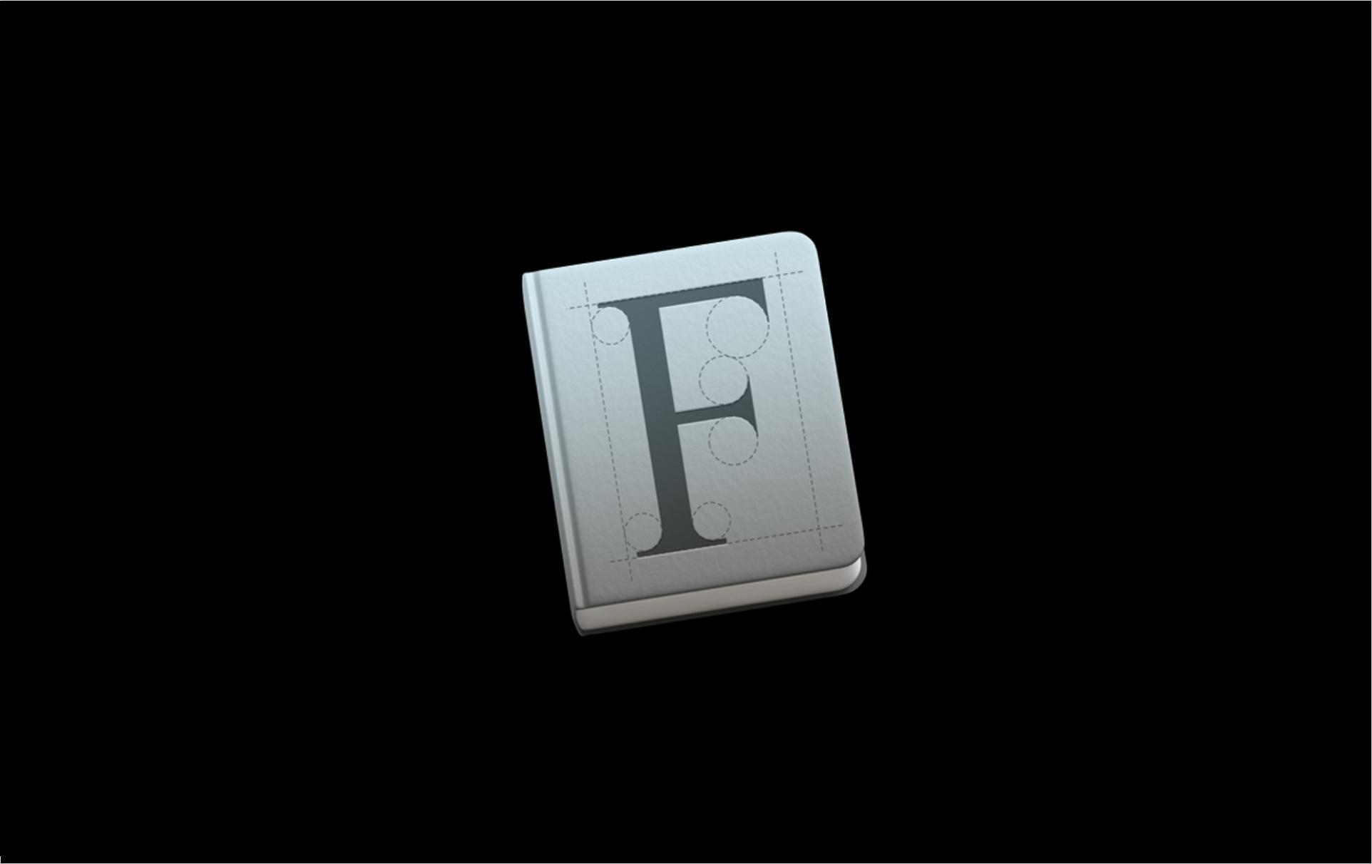 MacOS'a yazı fontu nasıl yüklenir?