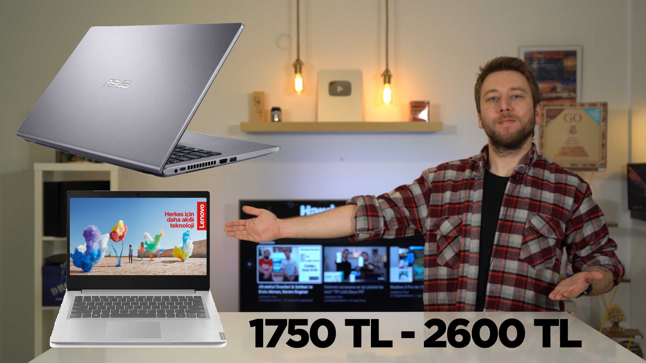 En iyi UYGUN FİYATLI laptop modelleri (1750 TL - 2699 TL)