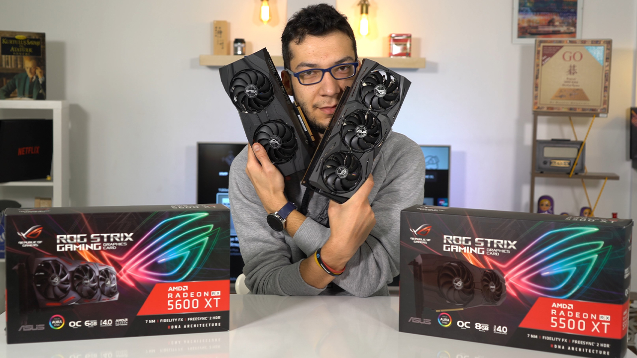 Fiyat performans canavarları! | ROG Strix Radeon RX 5500 XT & 5600 XT