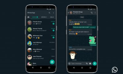 whatsapp karanlık mod android