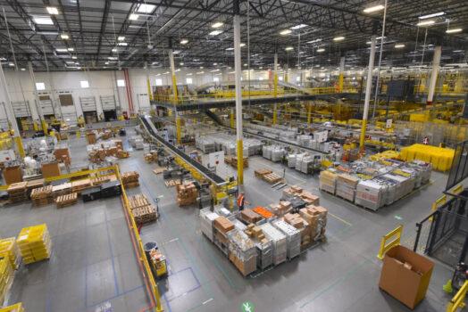 Amazon, depolarında termal kamera kullanıyor!