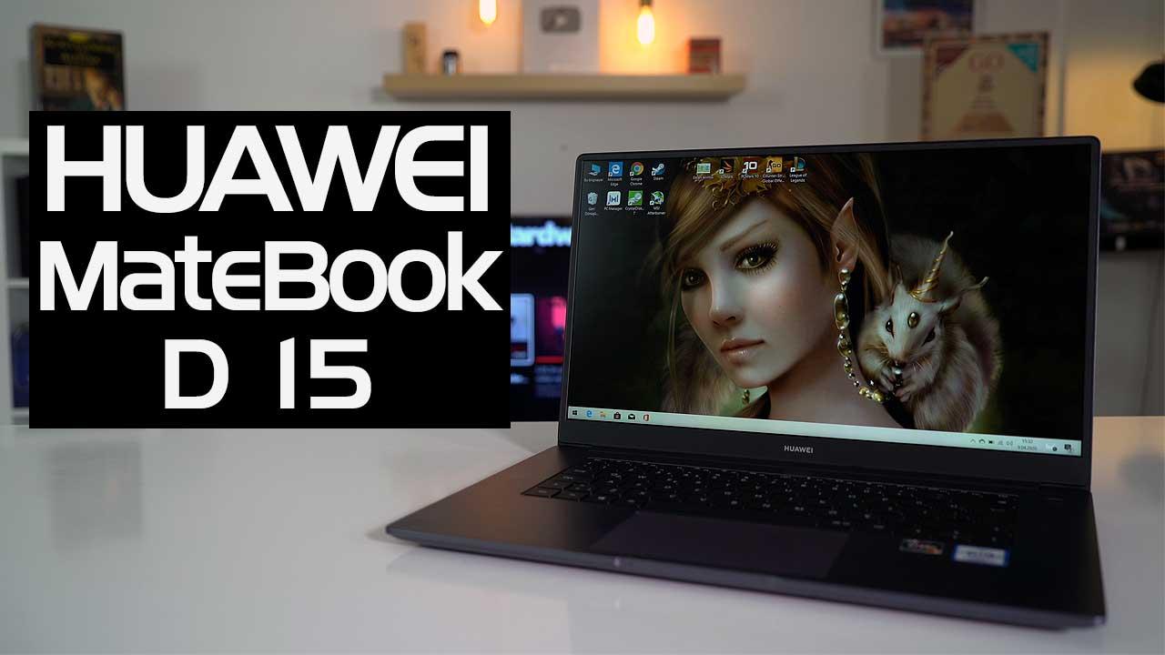 Huawei MateBook D 15 inceleme
