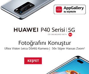 Huawei P40 reklamı