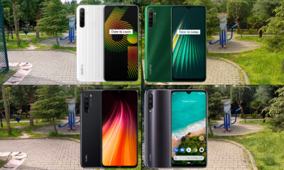 Realme 6i, Realme 5i, Xiaomi Mi A3 ve Redmi Note 8 video kıyaslama