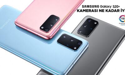 Samsung Galaxy S20+ kamera performansı nasıl?   DXOMARK #23