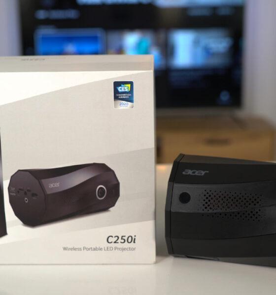 Her yerde sinema keyfi!   Acer C250i taşınabilir projeksiyon incelemesi
