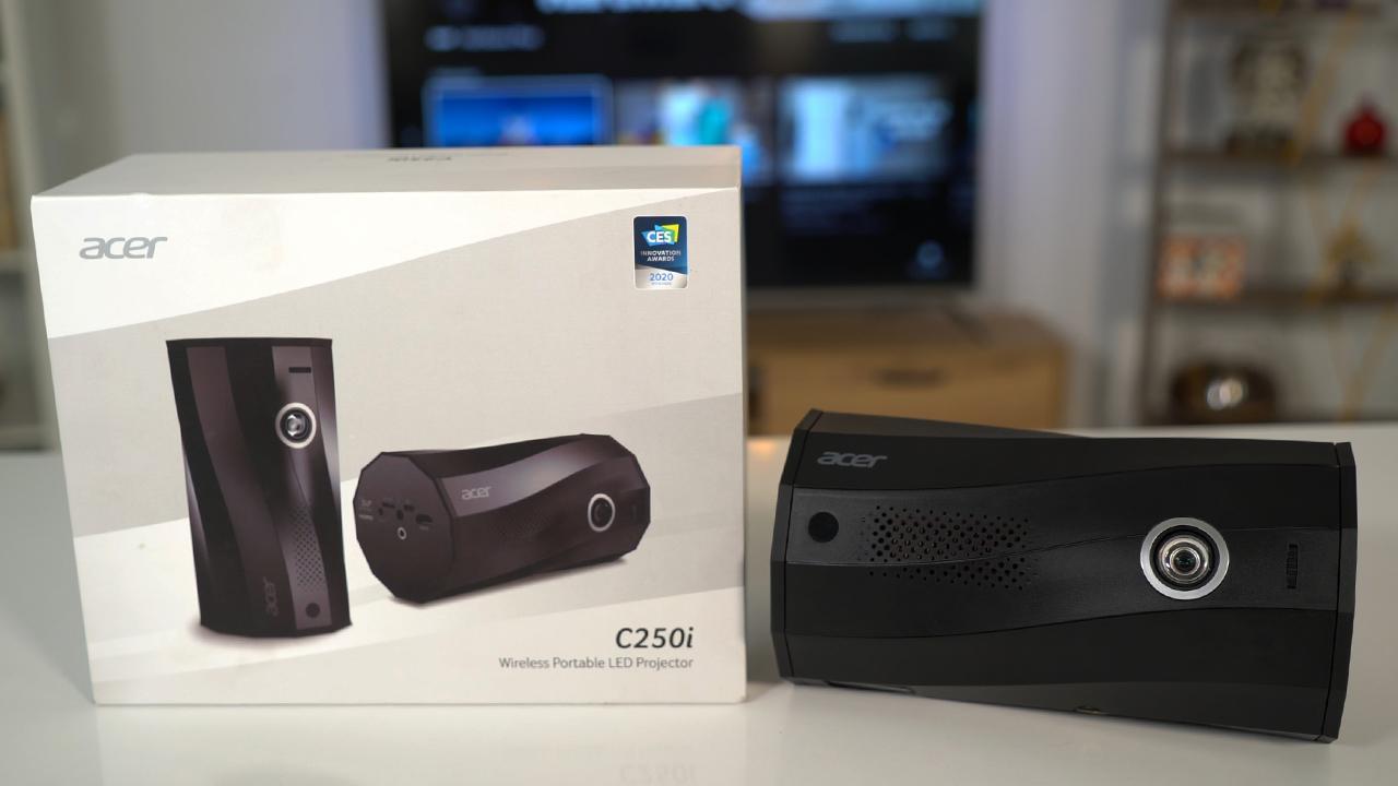 Her yerde sinema keyfi! | Acer C250i taşınabilir projeksiyon incelemesi