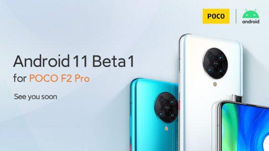 Xiaomi Android 11 beta