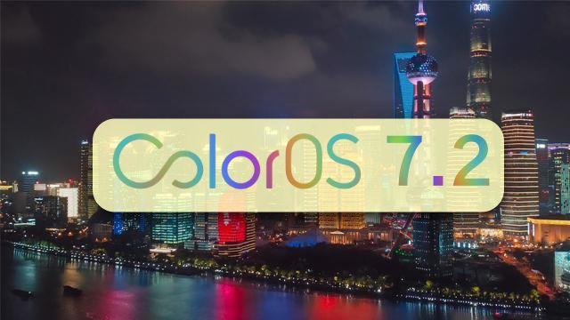 OPPO ColorOS 7.2