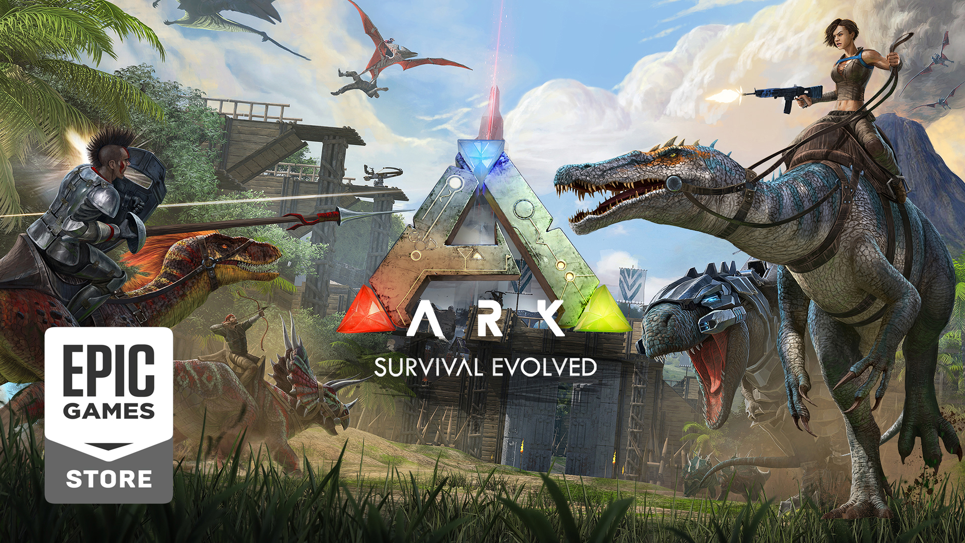 ark survival evolved bedava oyun epic