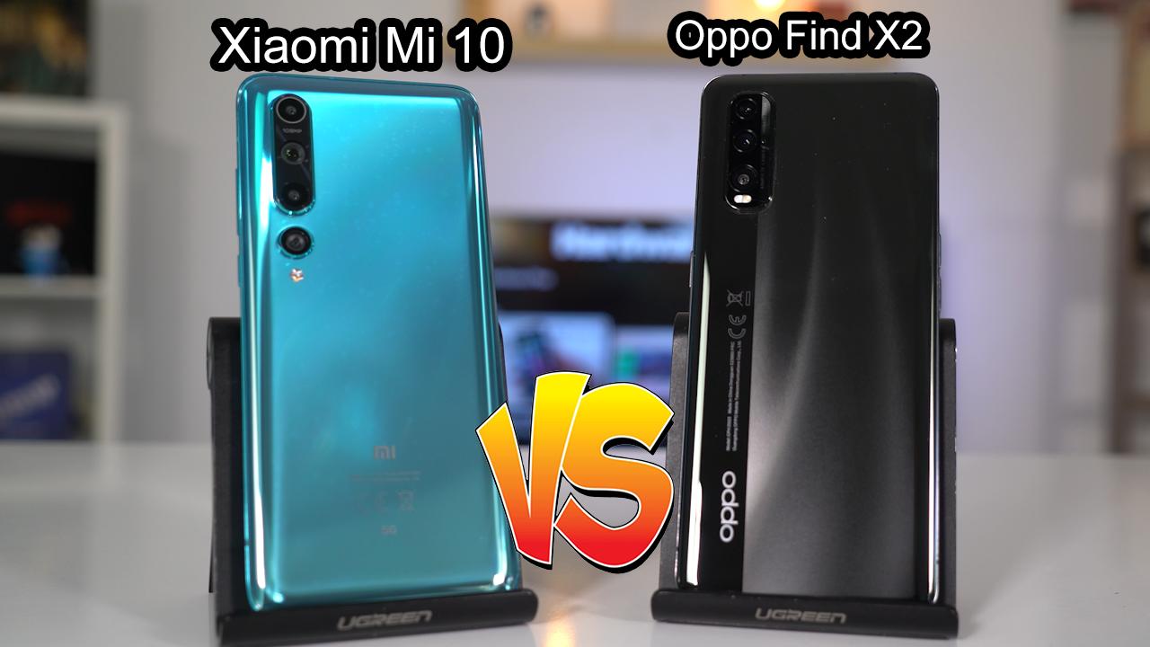 Oppo Find X2 vs. Xiaomi Mi 10