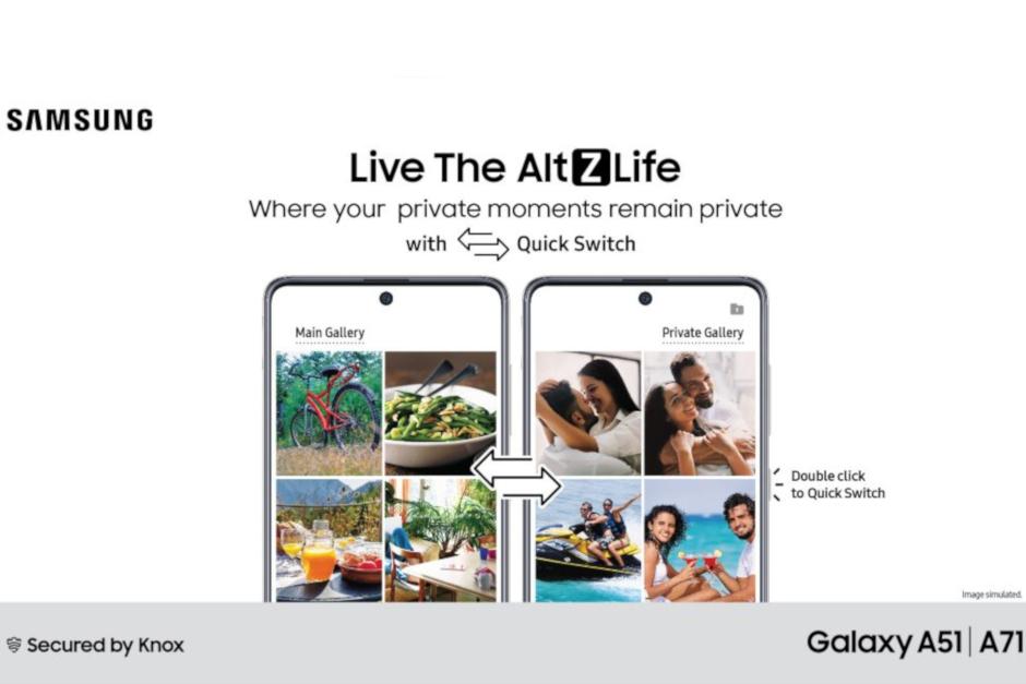 """Galaxy A51 ve A71 modellerine """"Üstün Gizlilik Modu"""" geldi"""