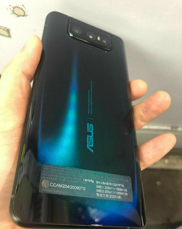 ASUS Zenfone 7, tasarımıyla gün yüzüne çıktı