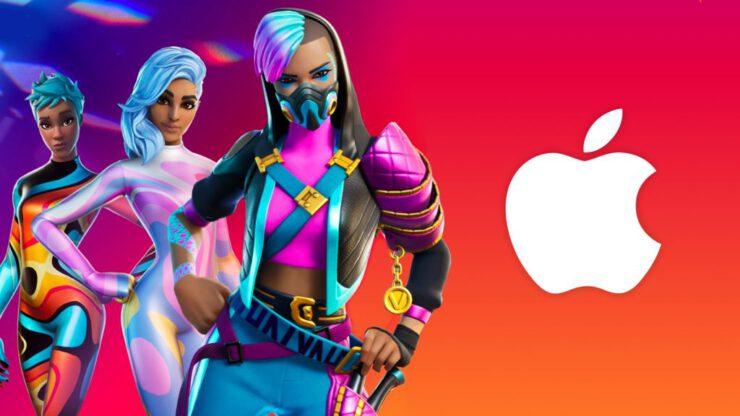 epic fortnite apple dava tehdit