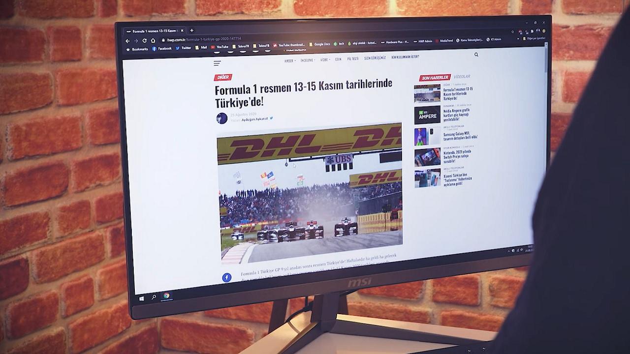 Ofis kullanıcıları için şık, ince ve güçlü AIO PC: MSI Pro 24X 10M
