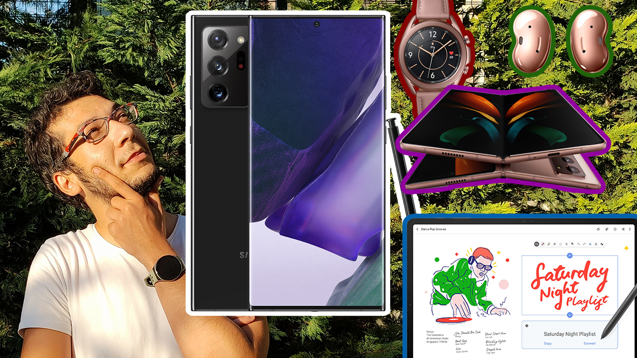 TÜM DETAYLARI İLE GALAXY NOTE 20, TAB S7, GALAXY WATCH 3 VE DAHASI!