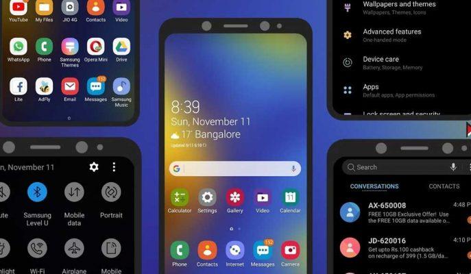 One UI 2.5 alacak telefonlar