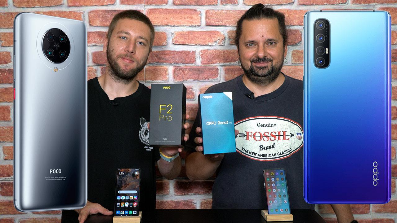 Ersin'in Poco F2 Pro deneyimi ve Oppo Reno 3 Pro ile kıyaslaması