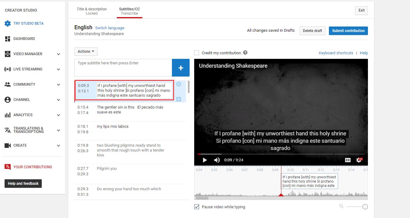 youtube topluluk katkıları