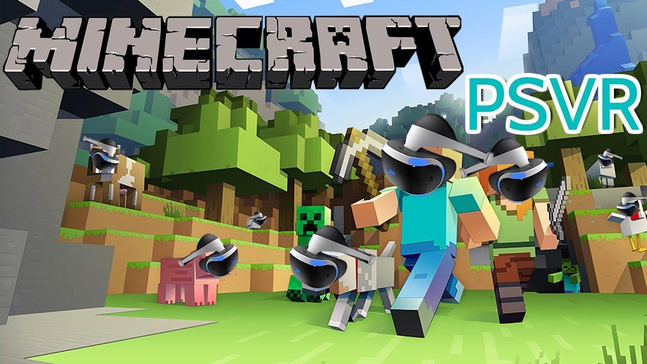 Minecraft, ücretsiz olarak PlayStation VR desteğine kavuşuyor - Hardware  Plus - HWP