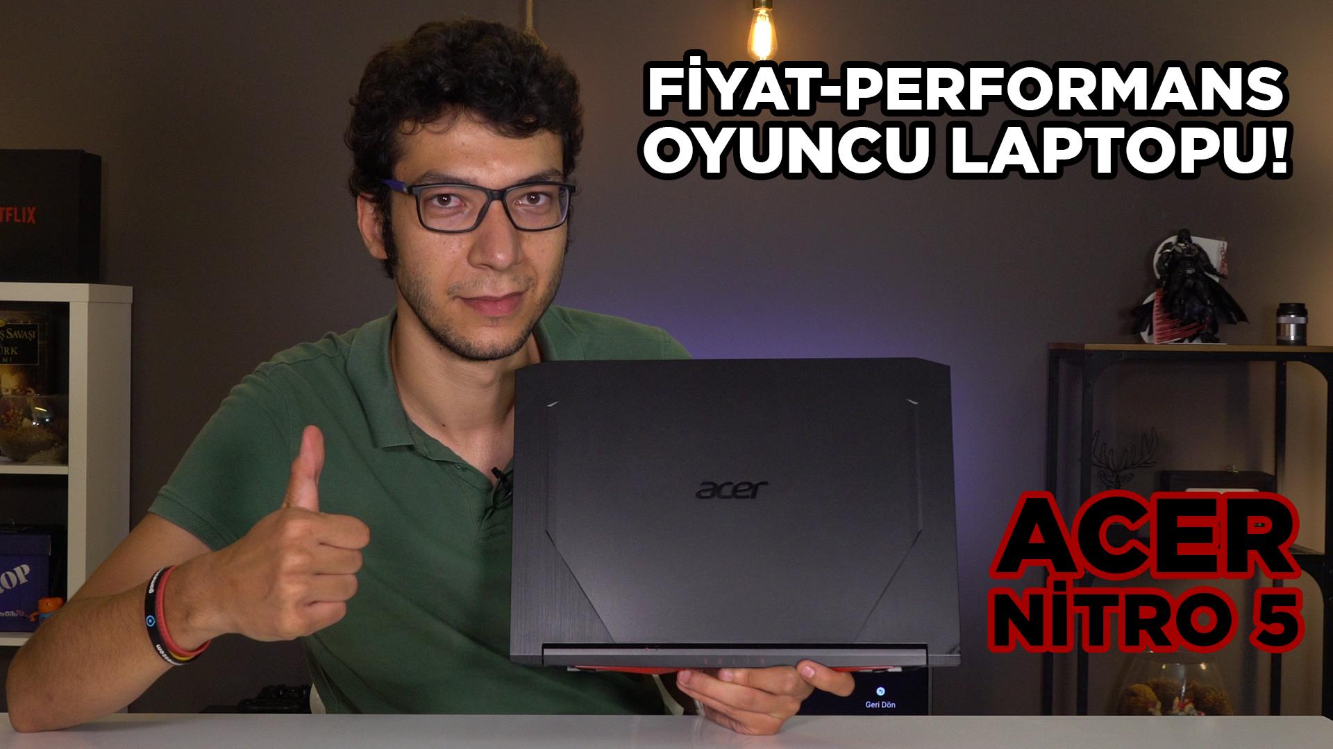 ACER NITRO 5 incelemesi | Yenilenen tasarımıyla tam bir fiyat/performans bilgisayarı!