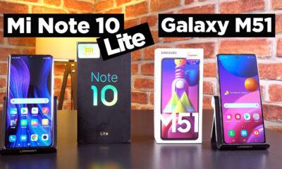 Samsung Galaxy M51 vs Xiaomi Mi Note 10 Lite karşılaştırma videomuzda, iki popüler cihazı kıyaslıyoruz. Bakalım Samsung Galaxy M51 mi, yoksa Xiaomi Mi Note 10 Lite mı? Fiyat bilgilendirmesi Samsung ülkemizde 8 GB RAM ve 128 GB depolama olan M51 sürümünü satıyor. O nedenle fiyat kıyaslamasında Xiaomi Mi Note 10 Lite'ın 8/128 sürümünü baz almamız gerekiyor. Bu konuda M51 modeli yaklaşık 3800 TL, Mi Note 10 Lite ise 3900 bandında yer alıyor. Tasarım farklılıkları Tasarım konusunda materyal ve görünüm olarak Mi Note 10 Lite'ın daha iyi olduğunu görüyoruz. Zira kavisli ekran, metal yan çerçeveler ve cam yüzey; Galaxy M51'in plastik kasasına göre daha premium bir his uyandırıyor. Öte yandan kulaklık performansları benzer olsa da, özellikle hoparlör ses kalitesi noktasında da Mi Note 10 Lite'ın avantajlı olduğunu görüyoruz. Samsung Galaxy M51 vs Xiaomi Mi Note 10 Lite karşılaştırma Ekran ve performans kıyaslaması Her iki model de AMOLED panel kullanan ekranlar ile geliyor. Xiaomi Mi Note 10 Lite modelinde 6.47 inç AMOLED ekran, Galaxy M51 modelinde ise 6.7 inçlik Super AMOLED Plus panelli bir ekran yer alıyor. Kalite olarak aslında iki cihazın da paneli ve parlaklık gibi konuları çok benzer. Burada belirleyici ayrım boyut farkı ve Mi Note 10 Lite'ın HDR desteğine sahip olması. Performans tarafında her iki modelde de Snapdragon 730G olduğu için belirgin bir fark yok. Ancak M51'in microSD kart girişine sahip olması dolayısıyla bu noktada Mi Note 10 Lite'a göre bir avantajı söz konusu. Kamera ve bataryada bir galibimiz var! Kamera kıyaslamasında her iki cihazın da ana kamerası 64 MP olmasına karşın, verdiği sonuçlar aynı değil. Zira Galaxy M51 modeli yaptığımız denemelerde başta gece çekimleri olmak üzere genel toplamda daha iyi sonuçlar verdi. Ancak tabii ki her iki telefonun da fiyat segmentine göre iyi kamera deneyimleri sunduğumu belirtmemiz gerek. Yine de ikili kıyaslamada kazanan Samsung oldu. Pil konusunda da tahmin edebileceğiniz gibi Galaxy M51 modeli 7000 mAh pil ka