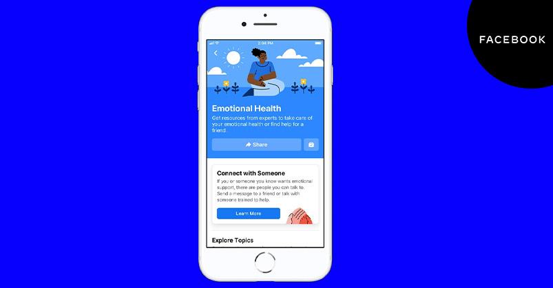 Facebook Yeni Duygusal Sağlık Kaynak Merkezini Duyurdu