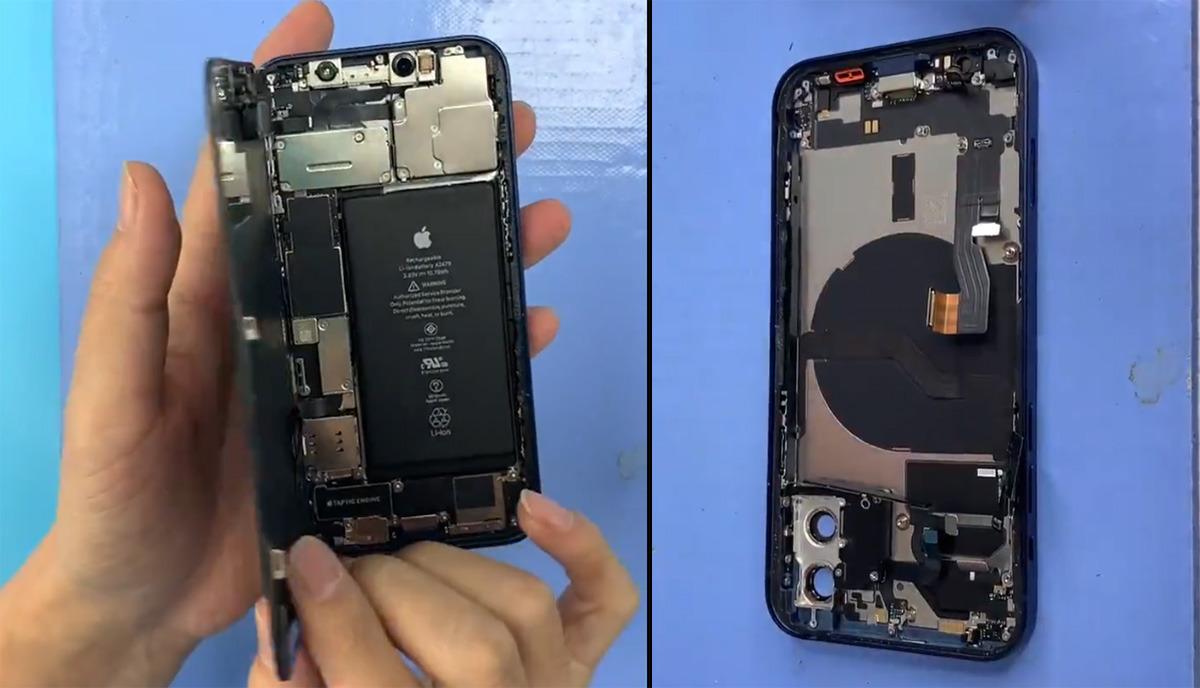 iPhone 12 parçalarına