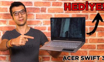 BU LAPTOP'U HEDİYE EDİYORUZ! | Acer Swift 3 incelemesi
