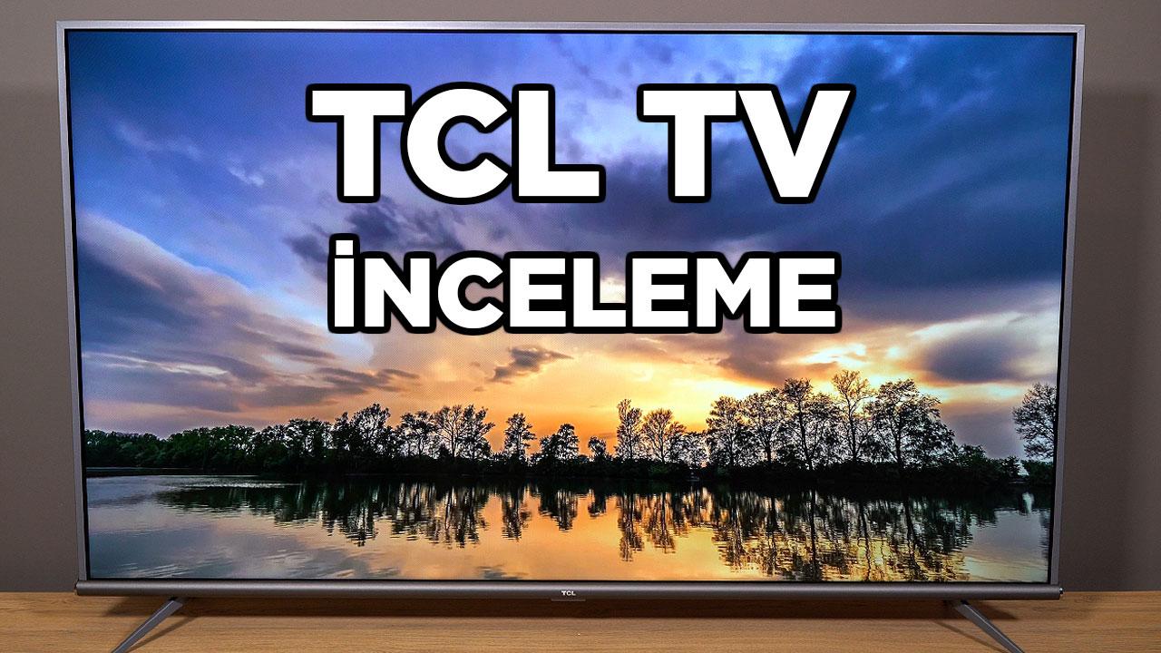 TCL P8M inceleme