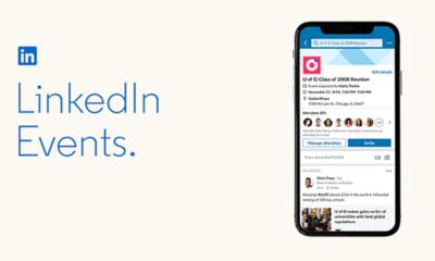 LinkedIn, etkinlik özelliklerini güncelliyor
