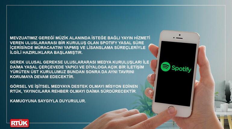 RTÜK Spotify