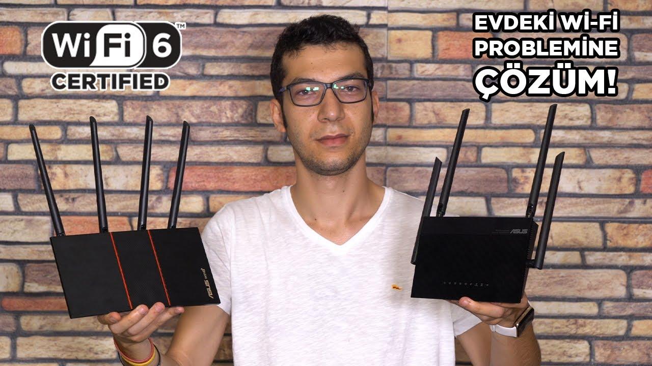 Wi-Fi 6 ile evdeki bağlantı sorununuzu çözün! | Asus RT-AX55 + RT-AC59U (v2)