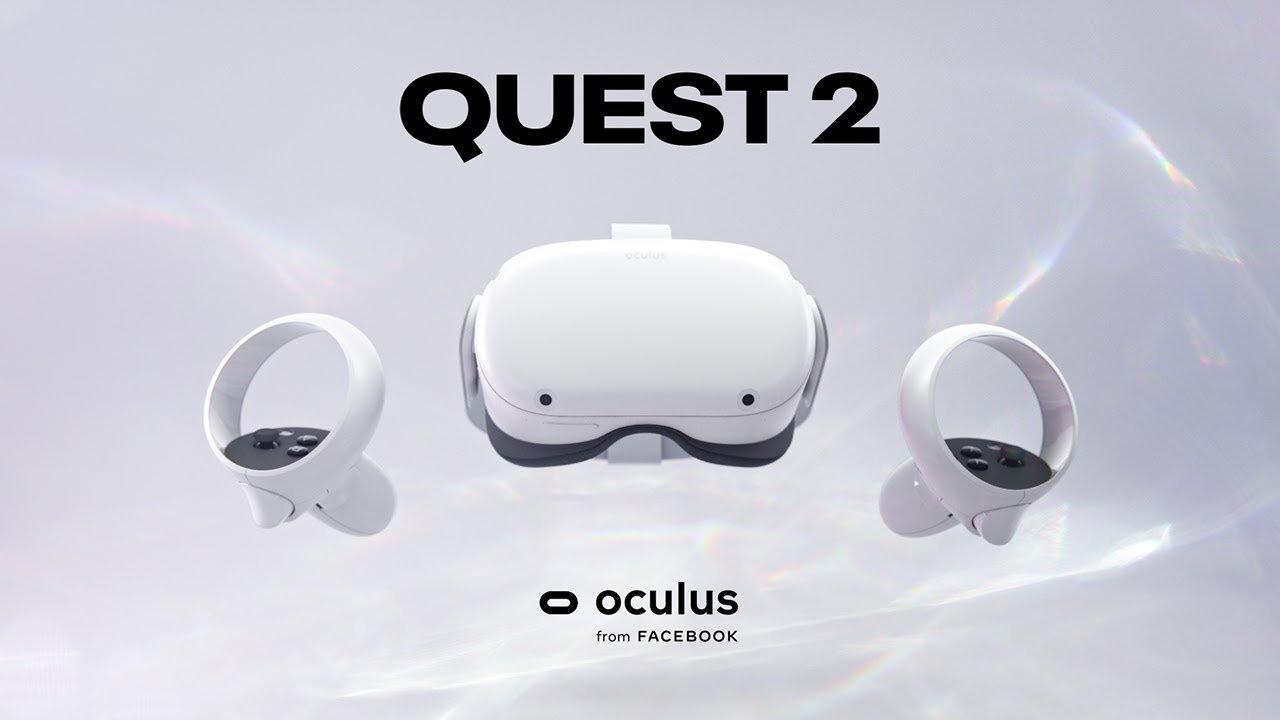 Facebook, Oculus Quest 2 VR başlığını piyasaya sürüyor