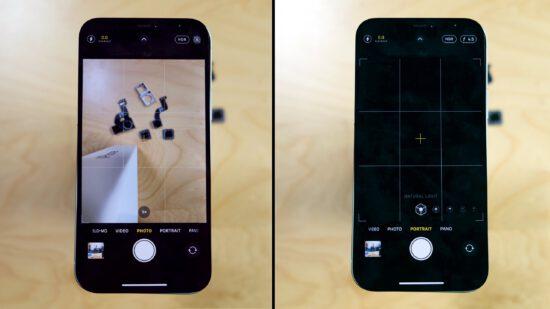 iPhone 12 kamera modülü