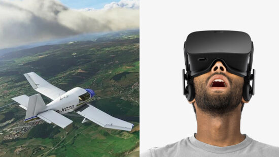 Microsoft Flight Simulator VR