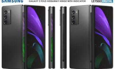 Samsung Galaxy Fold 3, farklı bir menteşe tasarımıyla geliyor!