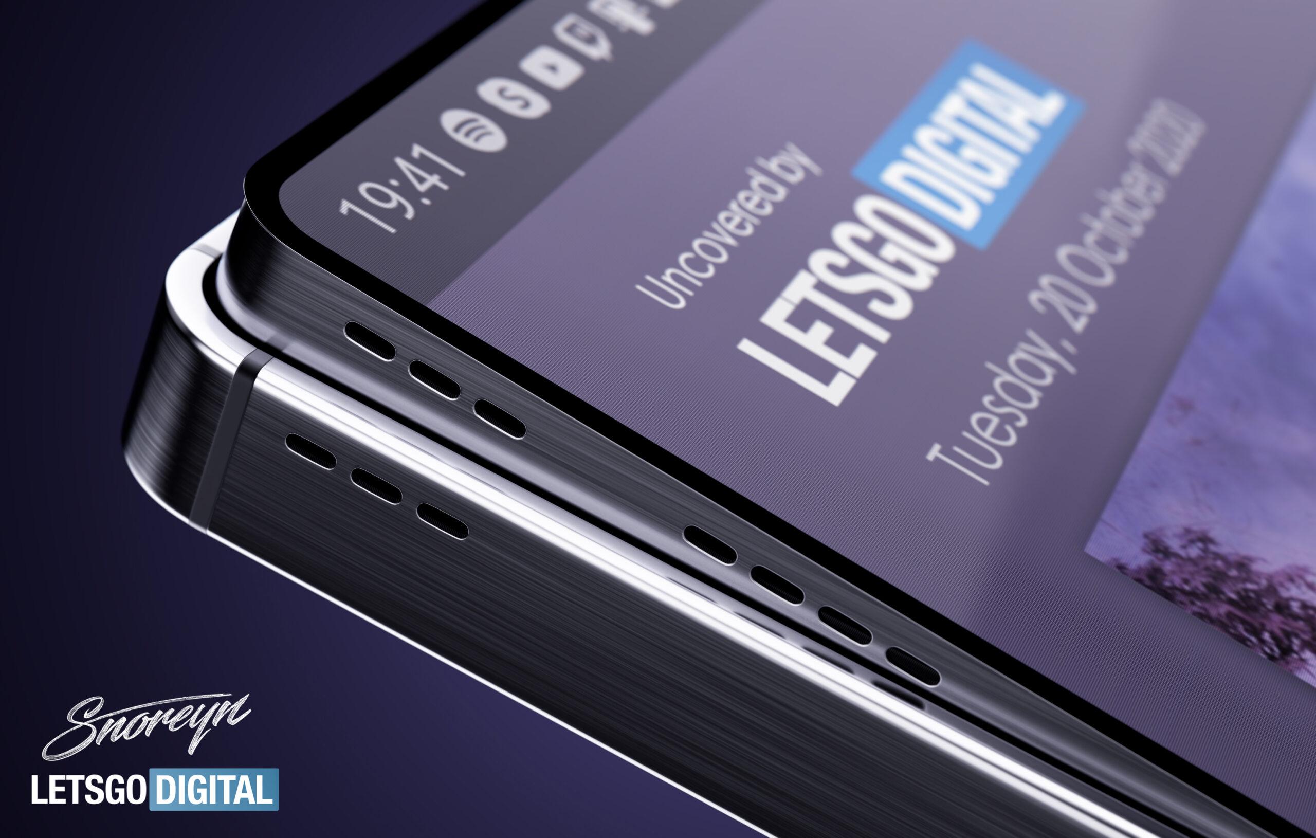 Samsung, pop-up hoparlörlü ve esnek ekranlı bir telefon patenti aldı!