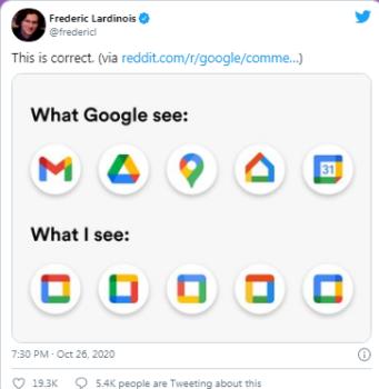 Bu Chrome eklentisi, Google'ın eski simgelerini sekmelerinize geri getiriyor