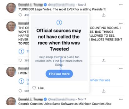 Twitter'ın Tweet Beğenileri İçin Yeni Uyarılar Üzerinde Çalışıyor