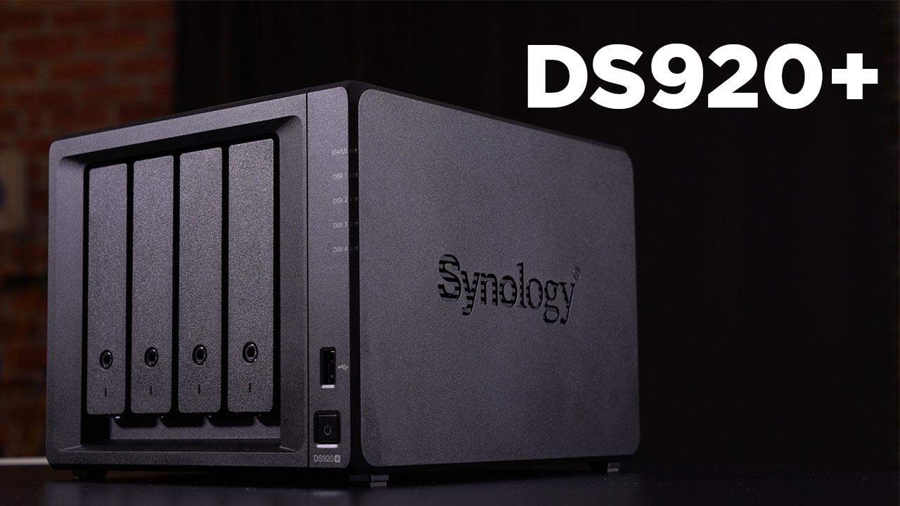 Synology DS920+ incelemesi   HWP'nin yeni NAS sistemi