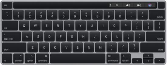 MacBook Pro'daki