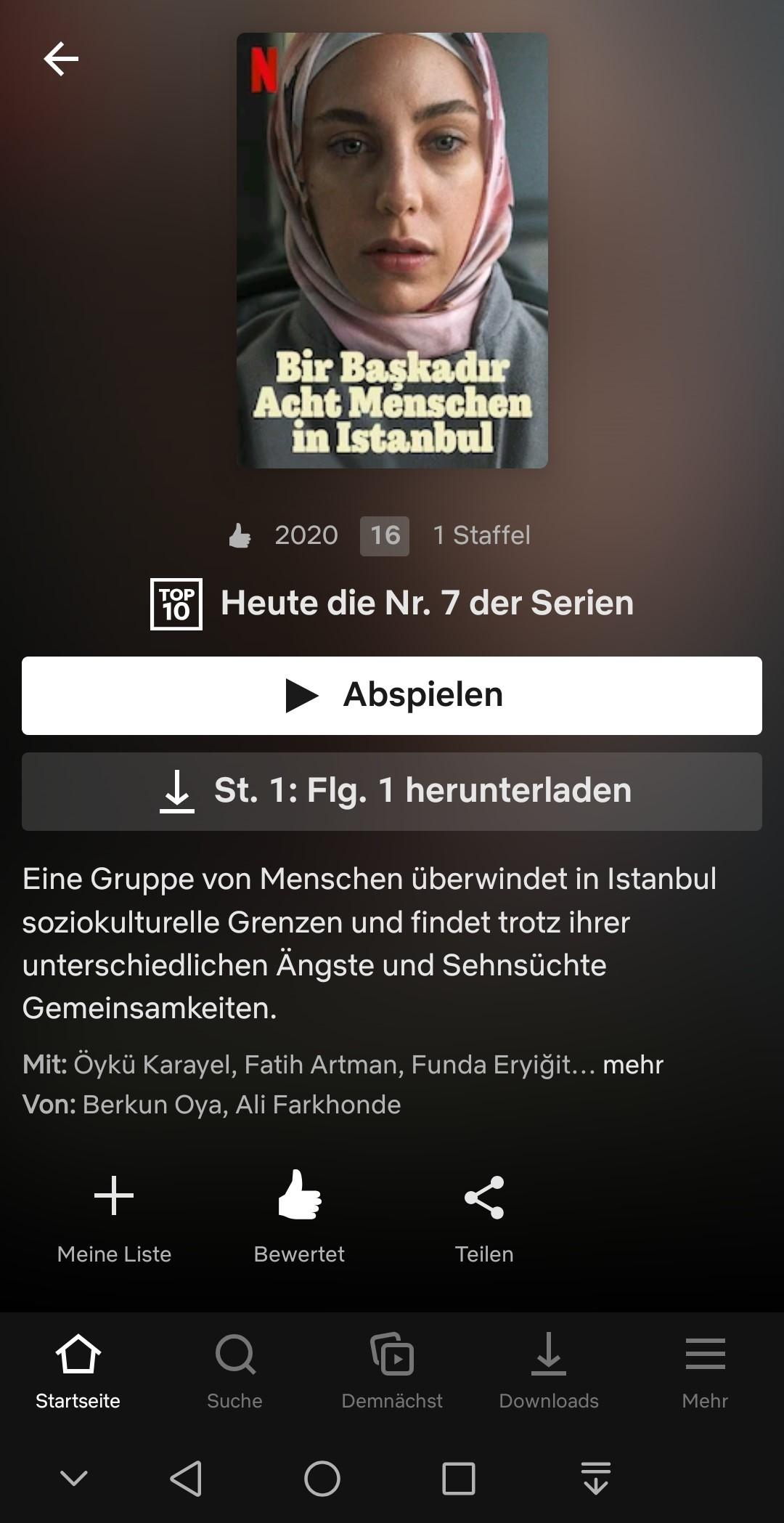 Bir Başkadır Netflix