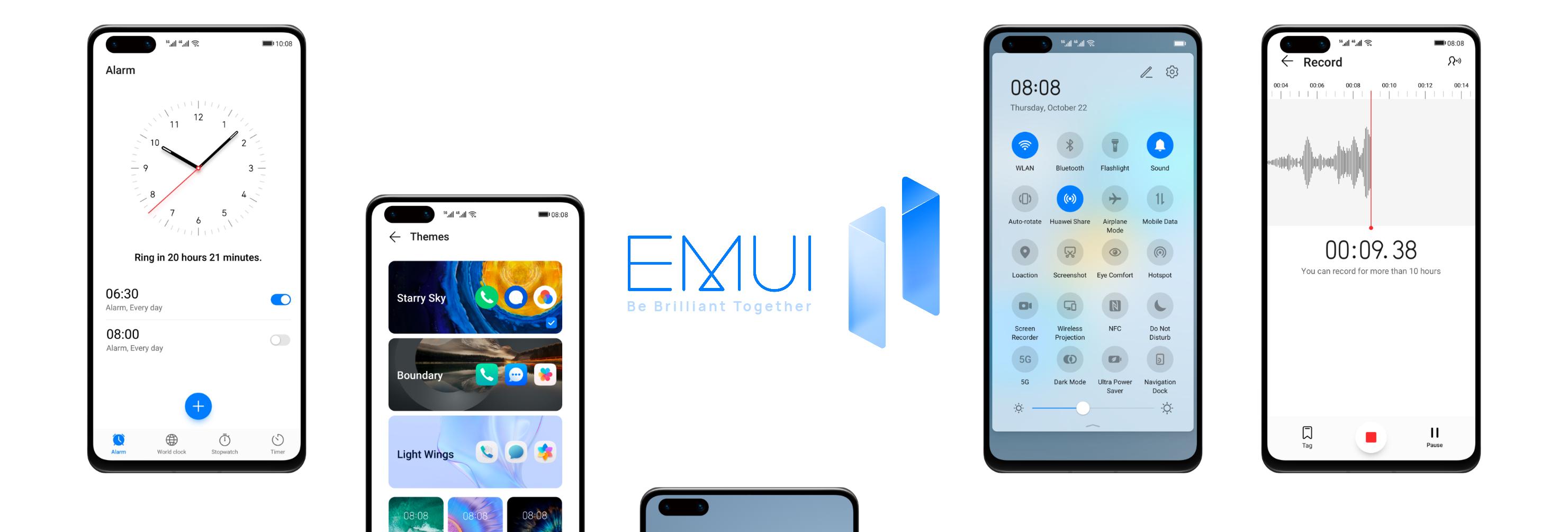 EMUI 11 alacak telefonlar