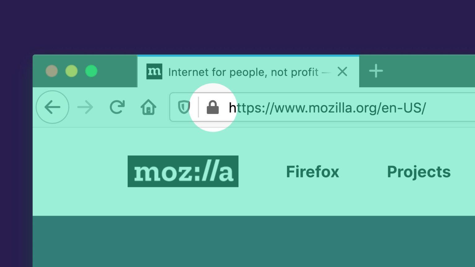 Firefox Yalnızca HTTPS Modu
