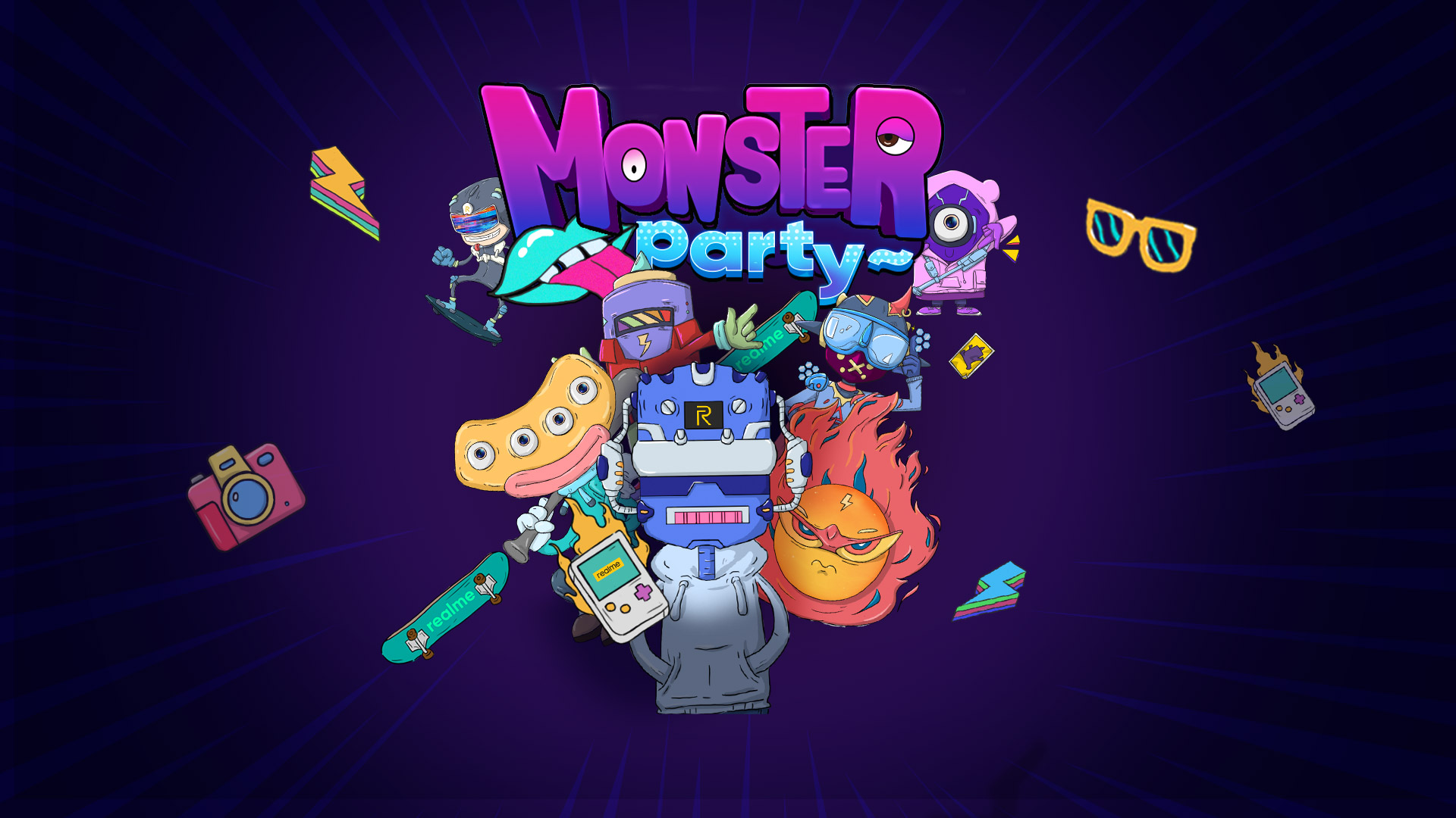 realme monster party