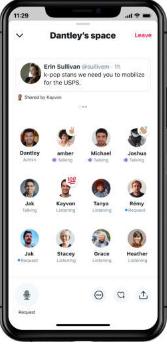 """Twitter, canlı sesli sohbetler için """"Spaces"""" özelliği test ediyor"""