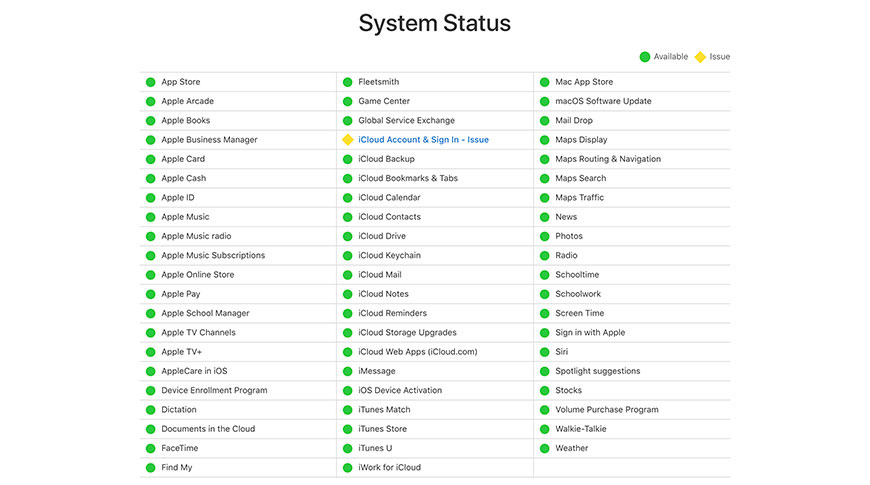 iCloud kullanıcıları, oturum açma ve etkinleştirme sıkıntısı yaşıyor!