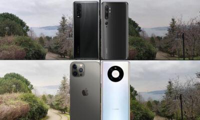 iPhone 12 Pro Max, Mate 40 Pro, Mi 10 ve Find X2 video karşılaştırma