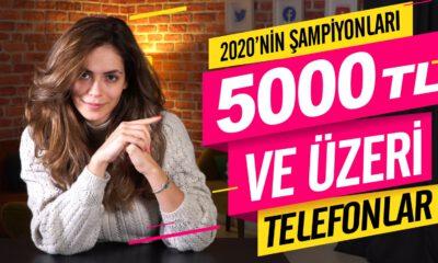 5.000 TL üzeri akıllı telefon önerileri